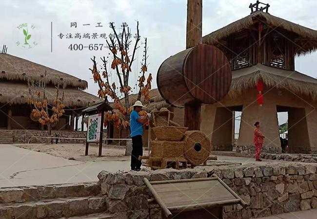 稻草工艺品机械造型